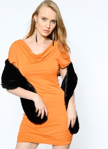 BcbgMaxAzria Elbise Renkli